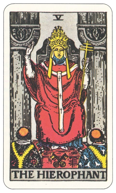 05 Tarot Card Hierophant
