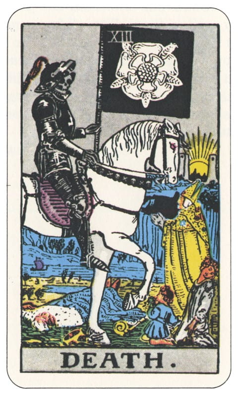 13 Tarot Card Death