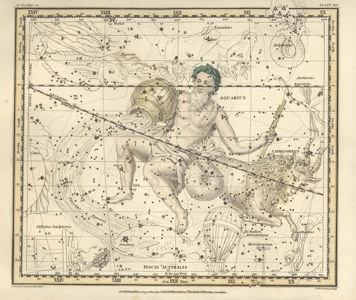 Star Atlas Tiny Aquarius Capricorn